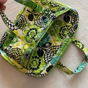 Vera Bradley Bible Cover/Case, Green and Yellow